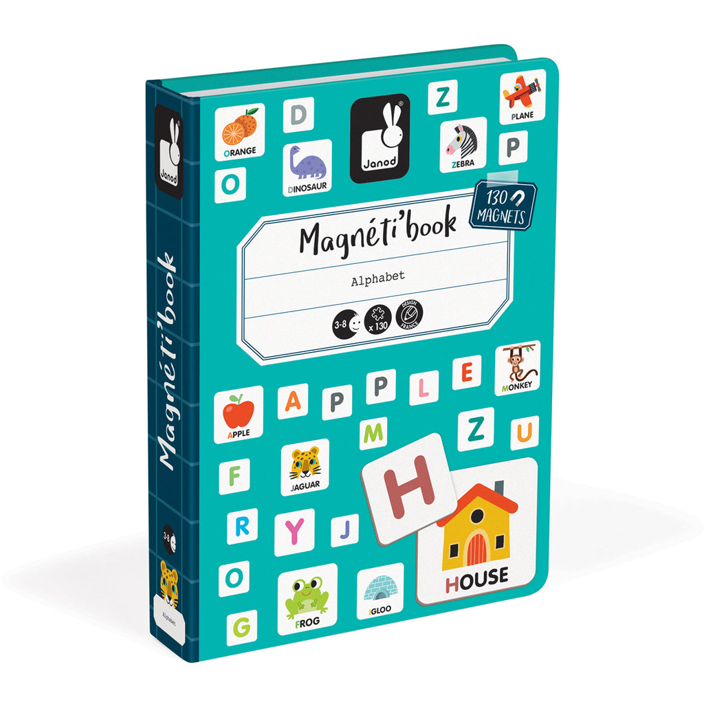 Janod Magnetic Book Alphabet
