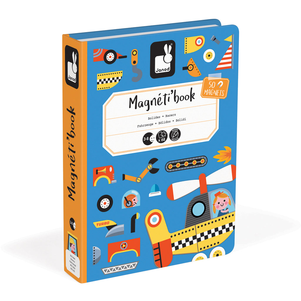 Janod Magnetic Book Racers