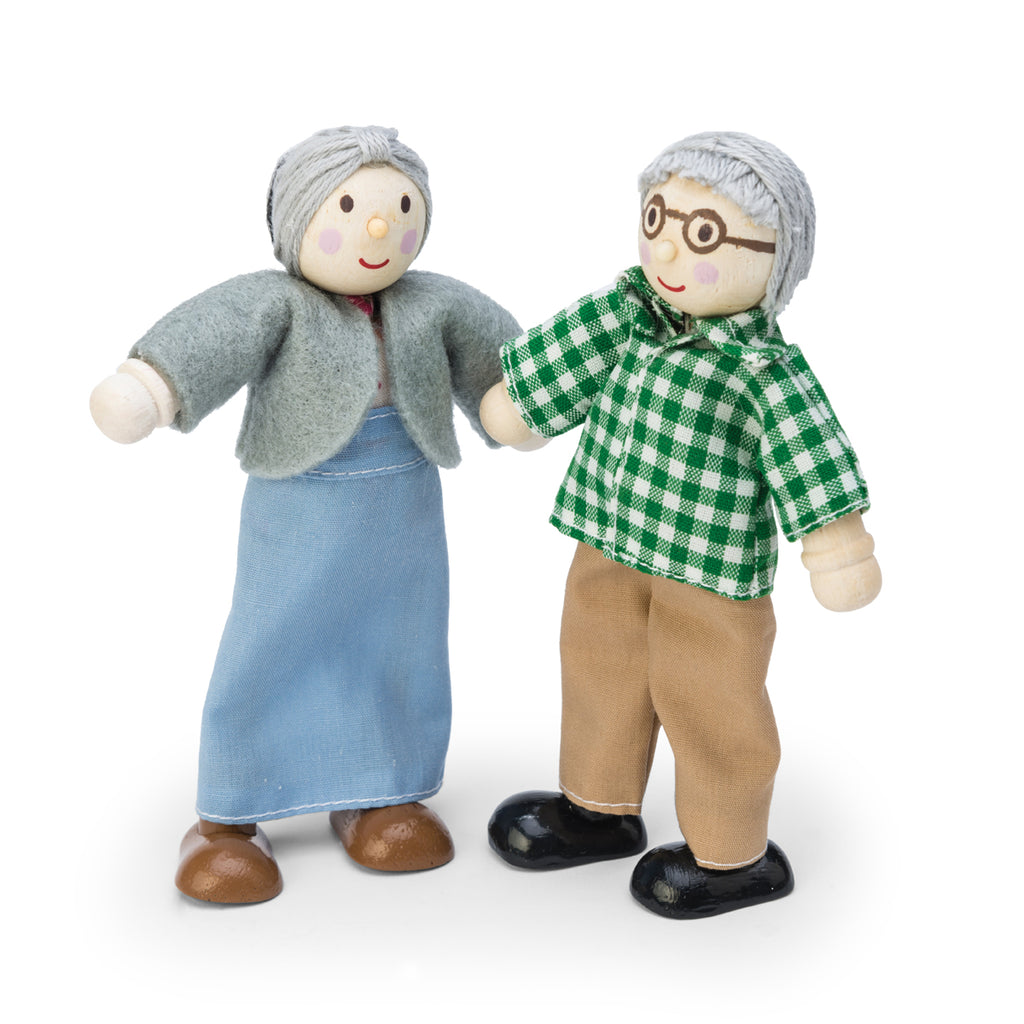 Le Toy Van Dollsfamily Grandparent Set