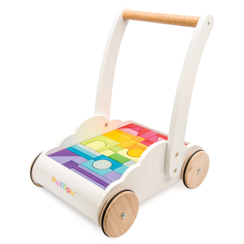Le Toy Van Baby Walker 'Rainbow Cloud'