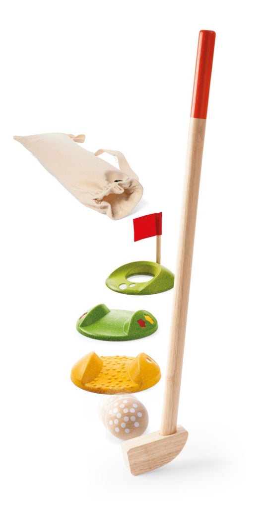 Plan Toys Mini Golf - Single Set