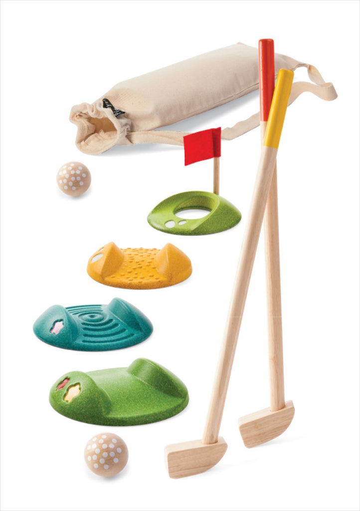 Plan Toys Mini Golf - Double Set