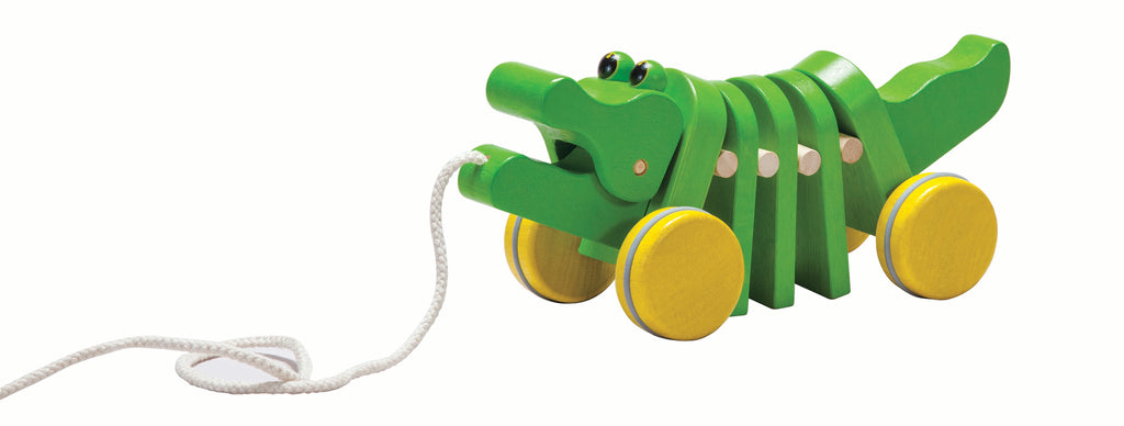 Plan Toys Pull Along Alligator