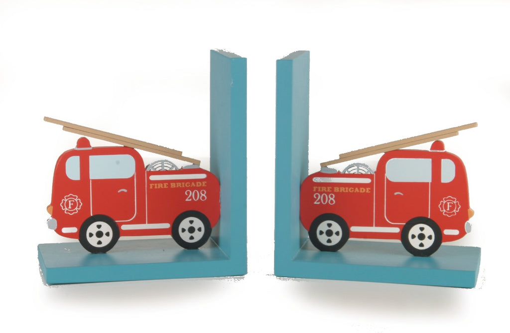 Sass & Belle Fire Engine Bookends