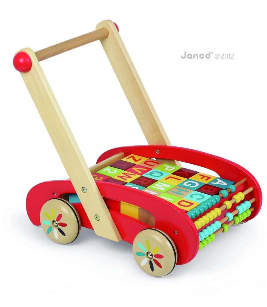 Janod Baby Walker 'ABC Buggy'