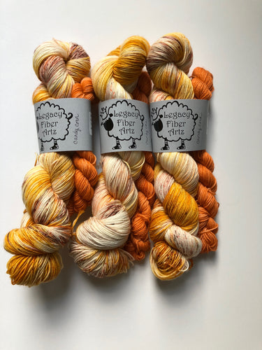 Candy Corn Sock Kit
