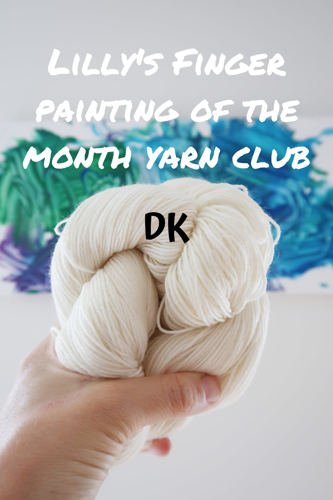 September Lilly's Finger Painting of the Month Yarn Club (DK)