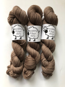 Espresso Bean Flock: Highland Fingering