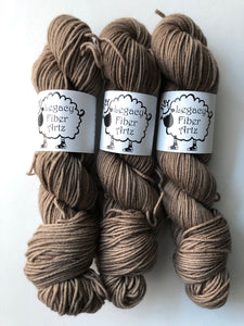 Espresso Bean Flock: Highland Worsted