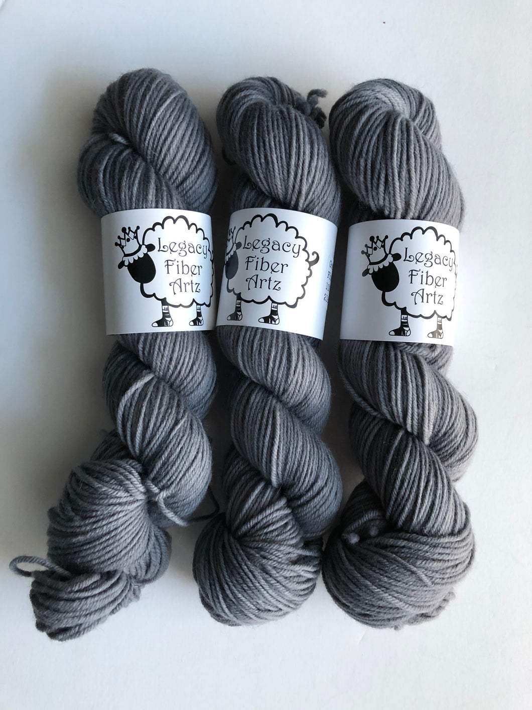 Grey Gardens Flock: Highland Worsted