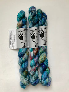 Jumpin' Jellyfish Snazzy Toes Mini Skein (VT)