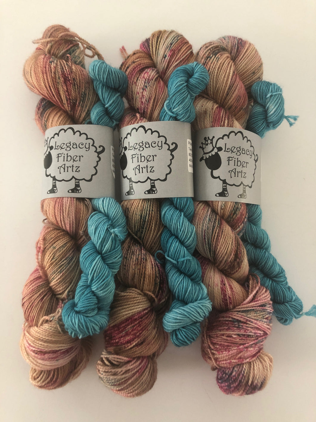 Prancer Sock Kit (Twisty Toes)