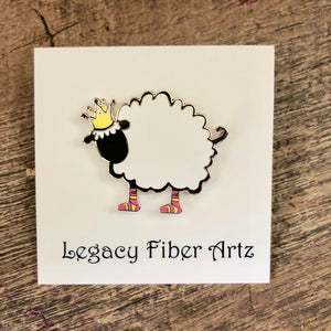 LegaSHEEP Enamel Pin