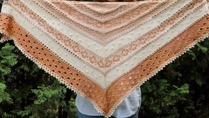 Foxy Lady Shawl Kit (Worsted)
