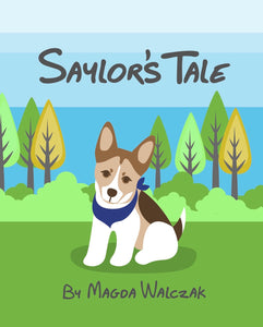 Saylor's Tale - Children's book about a rescue pup