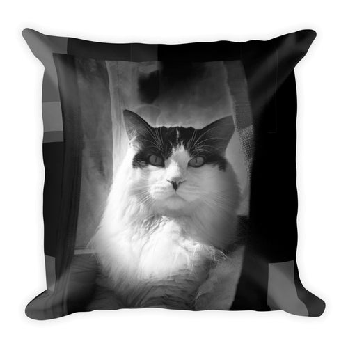 McClane Cat - Square Pillow