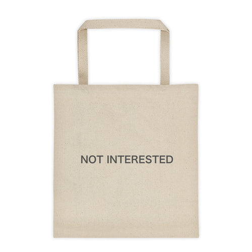 Not Interested - Tote bag
