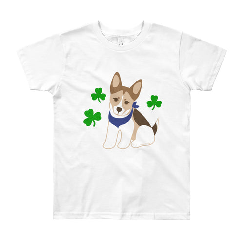 Lucky Dog Youth Short Sleeve T-Shirt (8yrs-12yrs)