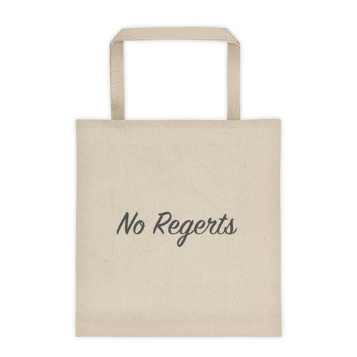 No Regerts - Tote bag