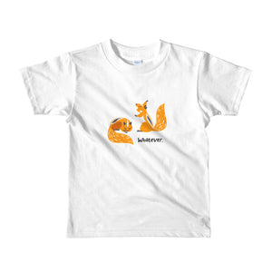 Whatever - Short sleeve kids t-shirt (2yrs-6yrs)
