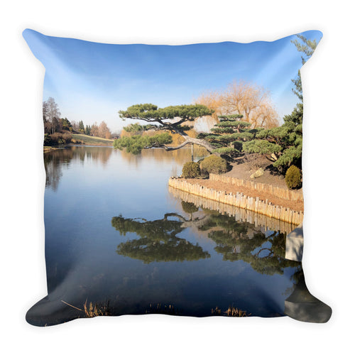 Japanese Garden - Square Pillow