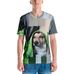 Saylor Dog Yoda - Men's T-shirt