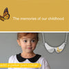 The Butterfly on Collar Necklace