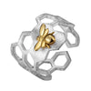 Honeycomb Bee Ring - Rozzita.com