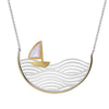 Boat in the sea Necklace - Rozzita.com