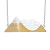 Mountain Cloud Necklace - Rozzita.com
