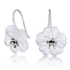 The Crystal Flower Earrings - Rozzita.com