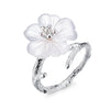The Crystal Flower Ring - Rozzita.com