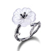 The Crystal Flower Ring