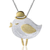 Bird in Hat Pendant - Rozzita.com