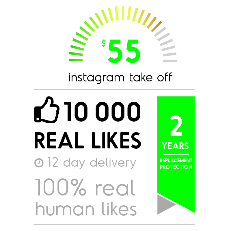 10 000 Real Facebook Likes