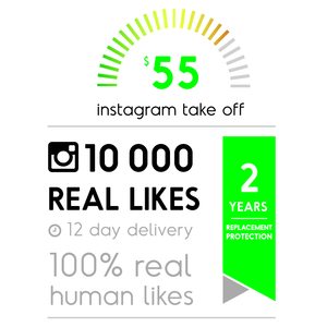 10 000 Real Instagram Likes