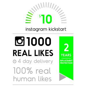 1000 Real Instagram Likes