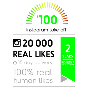 20 000 Real Instagram Likes