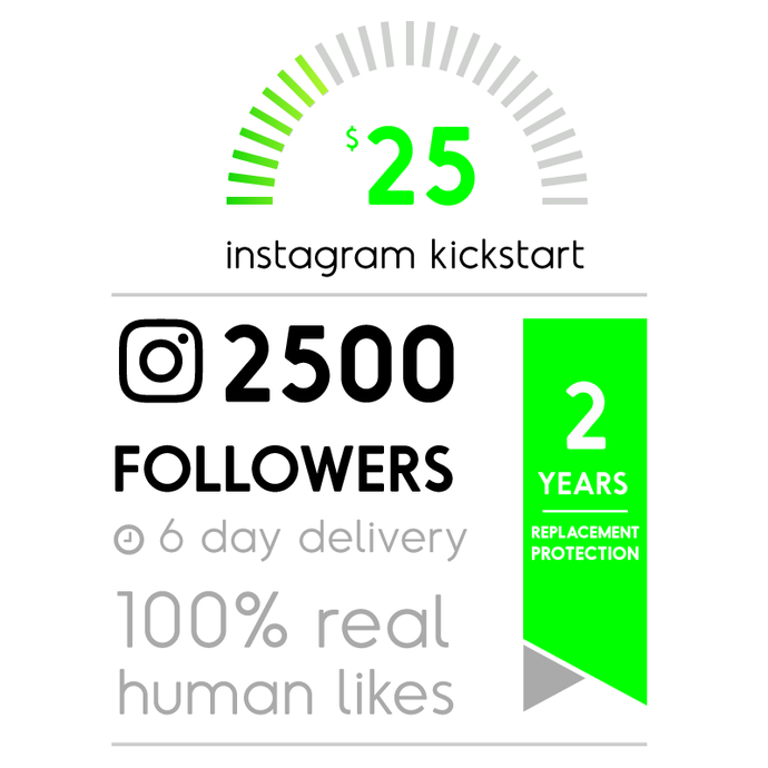 2500 Real Instagram Followers