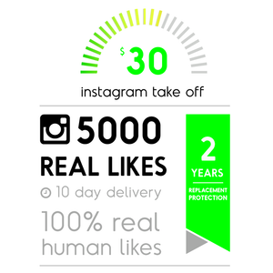 5000 Real Instagram Likes
