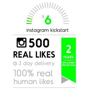 500 Real Instagram Likes