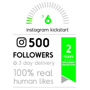 500 Real Instagram Followers