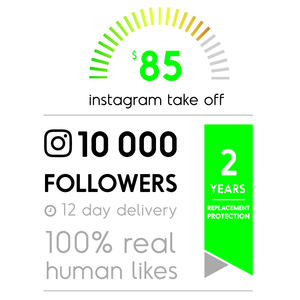 10 000 Real Instagram Followers