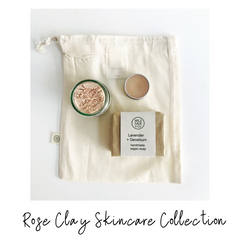Wild Sage and Co Rose Clay Skincare Set