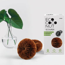 Load image into Gallery viewer, EcoCoconut Scourer - pack of 2