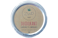 Load image into Gallery viewer, Grapefruit and Lemongrass Deodorant 60g - Zero Waste Path Shop