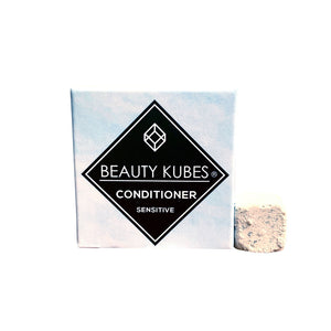 Beauty Kubes Plastic Free Solid Conditioner Cubes for Sensitive Skin