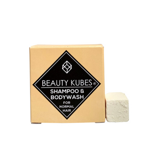 Beauty Kubes Unisex Shampoo and Bodywash for normal hair