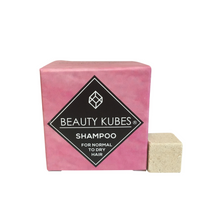 Load image into Gallery viewer, Beauty Kubes Shampoo cubes for Normal to Dry Hair