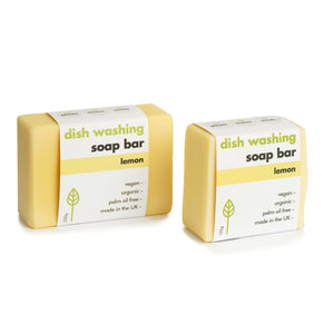 Eco Living Lemon Dish Washing Soap Bar 155g and 230g